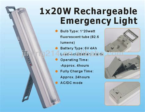 portable rechargeable fluorescent l le6405 le6405l rechargeable emergency light