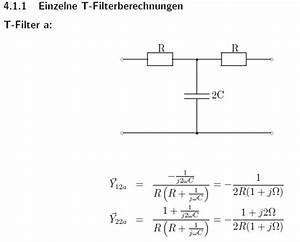 T Berechnen : doppel t filter berechnung ~ Themetempest.com Abrechnung