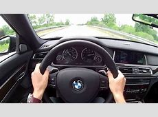 2013 BMW 740Li xDrive WR TV POV Test Drive YouTube