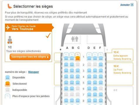 easyjet les sièges sont réservables pnc contact hôtesse