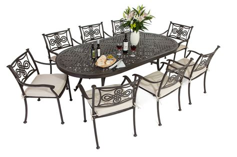 Metal Outdoor Furniture by Metal Garden Furniture Made In Cast Aluminium