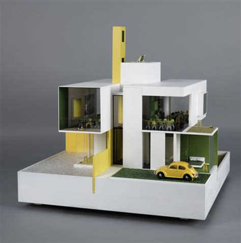 one of a dollhouses designed by 20 architects
