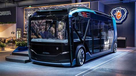 scania nxt bus concept revealed electric autonomous