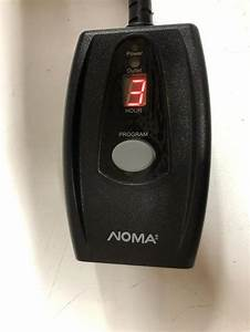 Noma 1 Button Timer Instructions