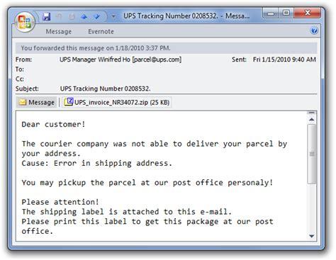 fix  fake ups tracking number virus rebooting  machine
