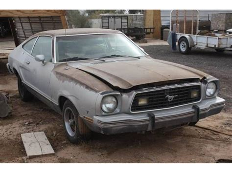 77 Mustang For Sale by 1977 Ford Mustang For Sale Classiccars Cc 1129586