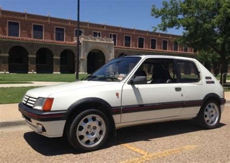 Peugeot 205 Gti For Sale Usa by Bat Exclusive 1986 Peugeot 205 Gti In The Usa Bring A