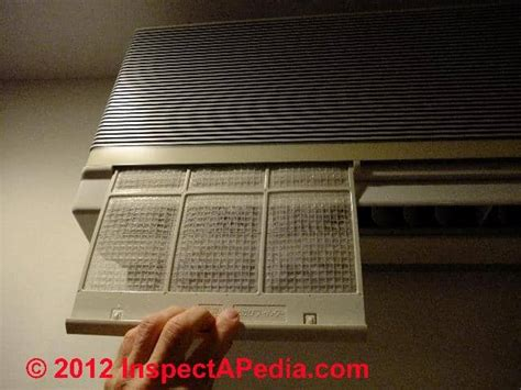 air conditioners air filters clogging  reduced air