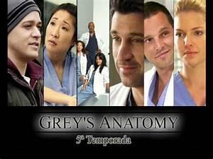 Grey's Anatomy - 5 temporada (season 5) - Introdução - YouTube