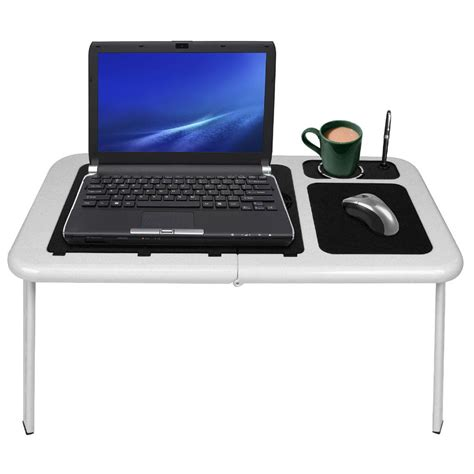 laptop desk portable workstation laptop buddy portable workstation table with fan 189411