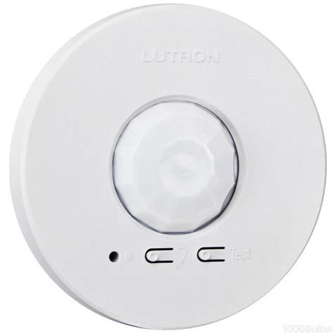ceiling mount vacancy sensor lutron lrf2 ocr2b p wh ceiling mount occupancy sensor
