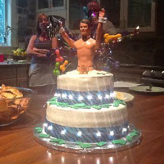 stripper ken cake weddings bachelorette parties