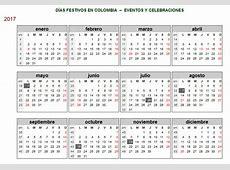 calendario Colombia – Calendario 2017