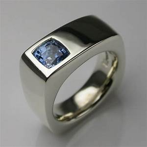 bespoke jump men39s engagement wedding ring 9 carat white With bespoke mens wedding rings