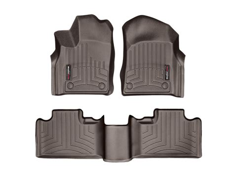 weathertech floor mats grand weathertech floor mats floorliner for jeep grand cherokee 2016 2017 cocoa ebay