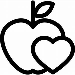 Healthy food for heart health care - Free food icons