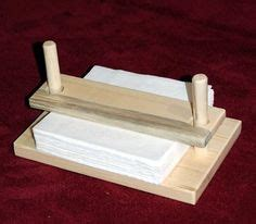 napkin holder   mahogany woodwork   small