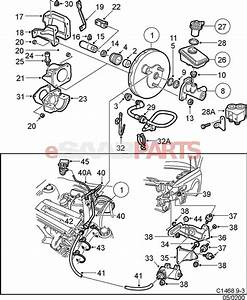 4543922 saab lock nut genuine saab parts from With saab kes diagram