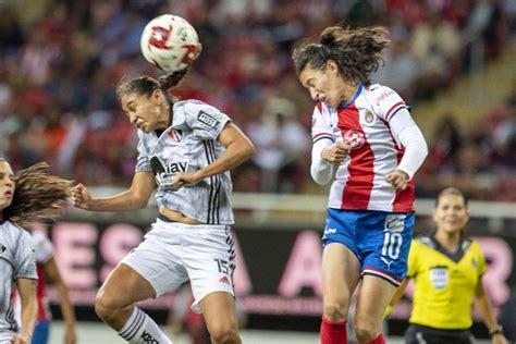 Chivas vs Atlas: En vivo | Jornada 10 Liga MX Femenil ...