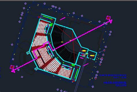 Auditorium    Dwg Design Block  Autocad