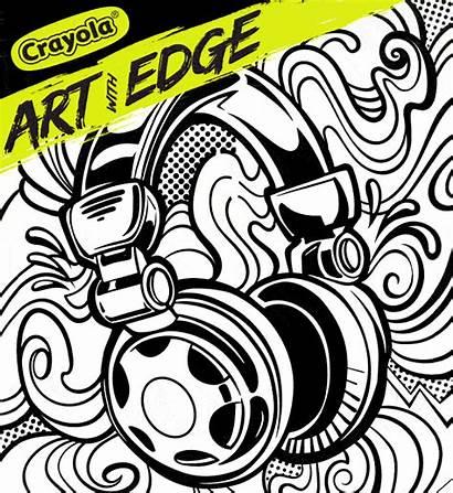 Graffiti Edge Crayola Splash Streets