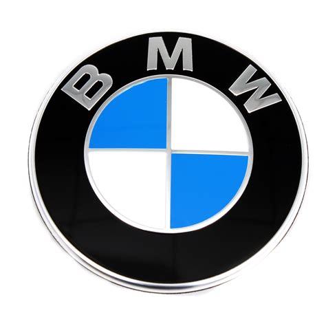 bmw logo original bmw emblem plakette zeichen logo 74mm heckklappe