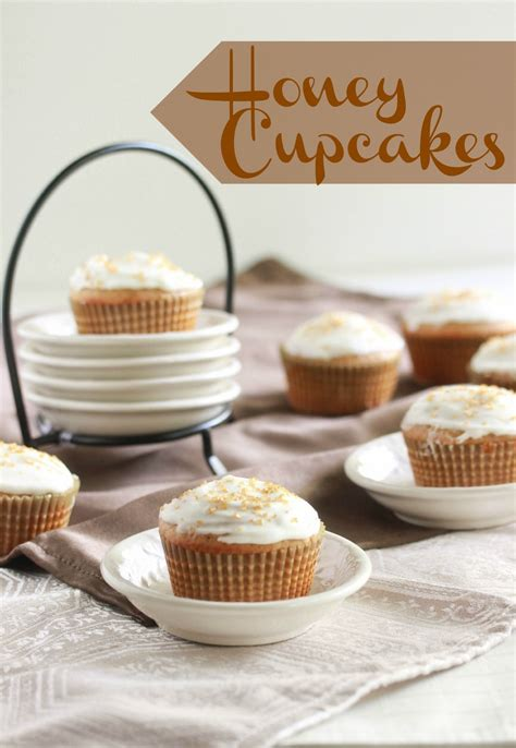 honey cupcakes  cream cheese frosting overtime cook