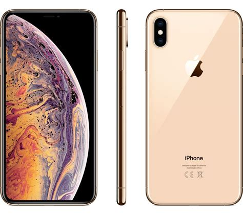 buy apple iphone xs max 512 gb gold free delivery currys