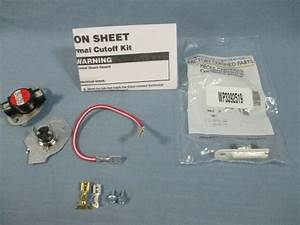 Oem Whirlpool 279816 Electric Dryer Thermostat Fuse Kit With Wp3392519 Fuse For Sale Online