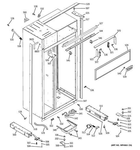 ge refrigerator parts model zissdma sears partsdirect