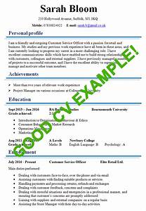 Example of a good cv modeles de cv pinterest cv for How to make a good cv