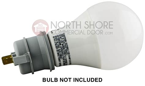 genie 34322a s ac drive garage door opener light socket