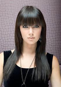 Frange Cheveux Long : coupe frange droite cheveux long ~ Melissatoandfro.com Idées de Décoration