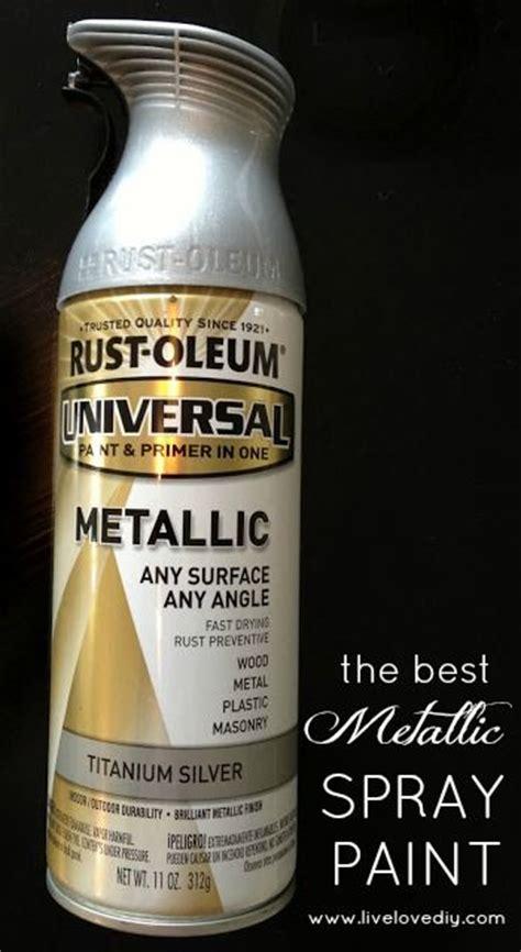 Metallic Spray Paint, Sprays And Silver Spray On Pinterest