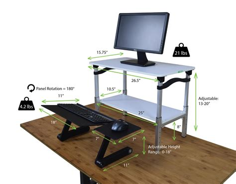 stand up desk converter amazon com lift standing desk conversion kit tall