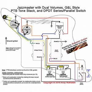 New Rothstein Jazzmaster Stb Super Mod Wiring