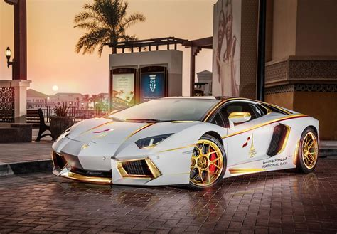 lamborghini aventador roadster golden limited edition