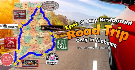 road trip alabama trips restaurant take al onlyinyourstate epic