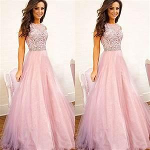 Pink prom dresses, Long prom dresses, tulle prom dress ...