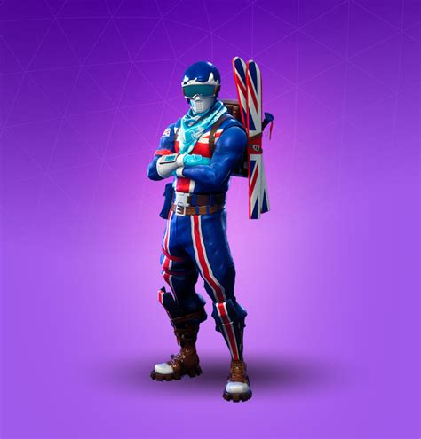 alpine ace gbr great britain fortnite outfit skin