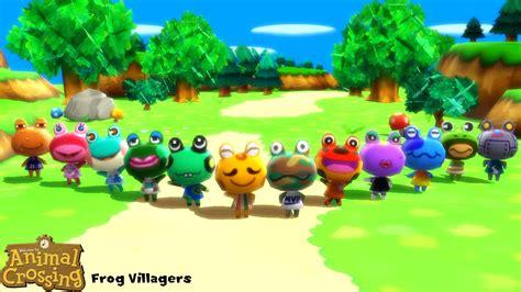 Mmd Model Frog Villagers Download By Sab64 On Deviantart