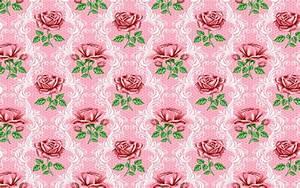 Dark Pink Roses Pattern wallpapers | Dark Pink Roses ...