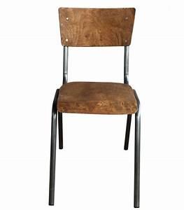 Chaise Bois Vintage : chaise colier vintage bois et m tal adulte ~ Teatrodelosmanantiales.com Idées de Décoration