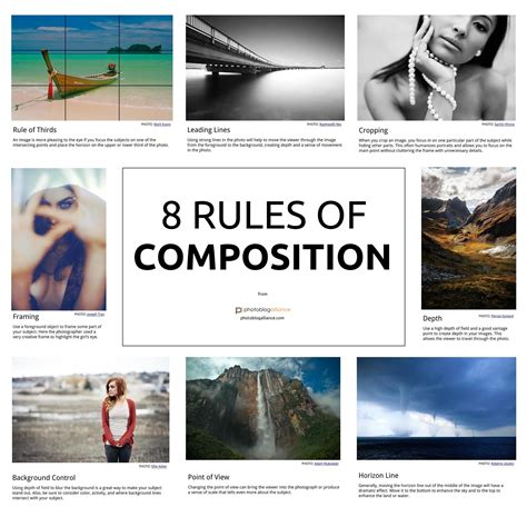 Want To Become A Great Photographer? Learn These 8 Rules