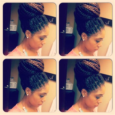 conservative braided hairstyles box braid style conservative style bun my interests