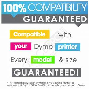 10 rolls 99010 dymo seiko compatible address labels 28 for Dymo address label template