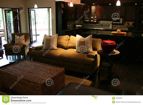 modern african interior stock photo image  table