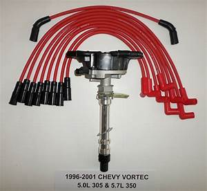 Chevy Vortec 1996 350 5 0l  305 Distributor  U0026 Red