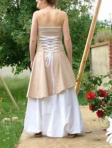 les fees tisseuses sarouel robe en lin pour mariage With robe en lin chic