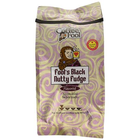 A crash course on how to french press coffee. The Coffee Fool Black Nutty Fudge Ground Coffee, French ...